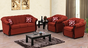 Damro Sofa CARSON 3+1+1 (Fabric) Price - Car, Van, Bike ...