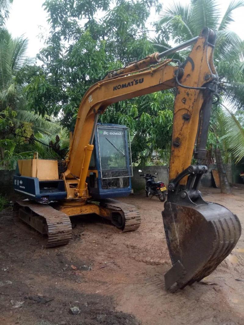 Comatsu 60-5 Excavation In Sri Lanka