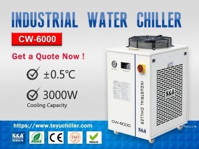 Recirculating Industrial Chiller Unit CW-6000