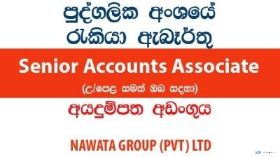 Senior Accounts Associate – NAWATA GROUP (PVT) LTD