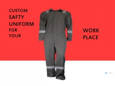 Coutom Safety Uniform for Your Work Place