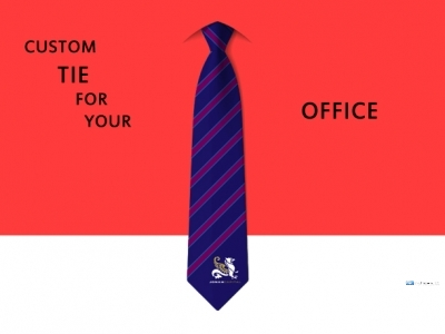 Custom Tie for Your Office