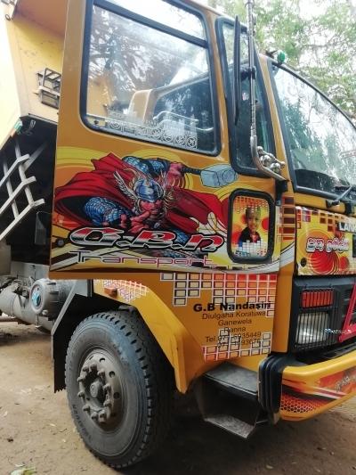Ashok Leyland Cargo 1618 Tipper 2017