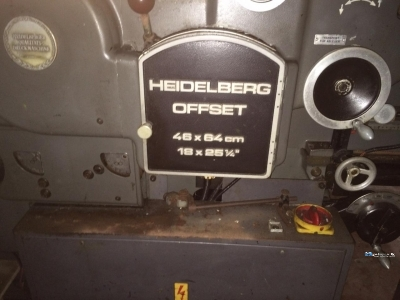 Kord Offset Machine