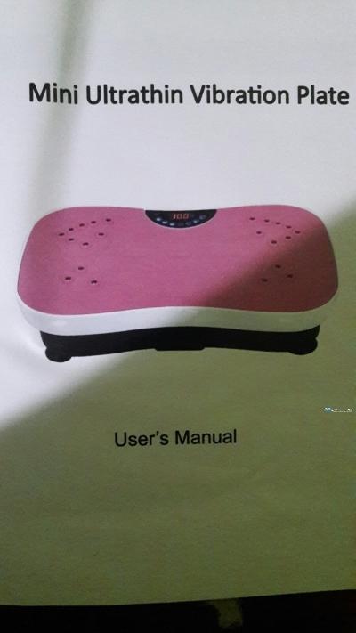 Mini Ultra Thin Vibration Plate
