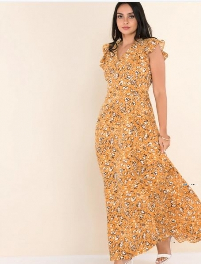 Printed Maxi Party Dress Price in Srilanka
