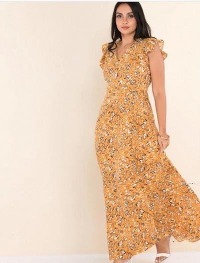 Printed Maxi Party Dress Price in Srilanka