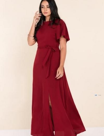 Flared Sleeve Maxi Party Dress Price in Srilanka