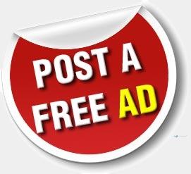 Free Ads - නොමිලේ දැන්වීම් පළ කරන්න