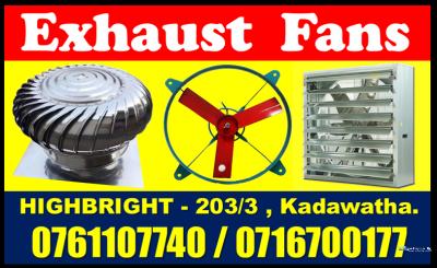 Hot Exhaust Fans Srilanka