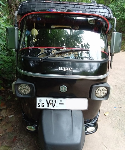 Piaggio Ape Three Wheel 2011