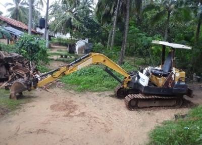 Yanmar E37 Excavation