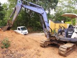Mitsubishi 45 Excavator