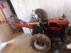 Kubota K8 Tractor