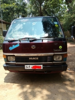 Toyota Hice Wogao 1988