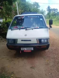 Toyota TownAce C240 Van 1986