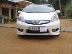 Honda Fit Shuttle GP2 2013