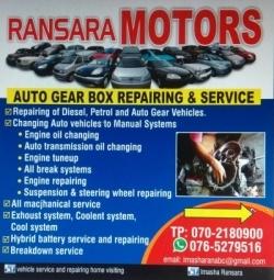 Auto Gearbox Repairing in Kottawa