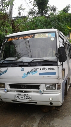 Tata City Rider 407 Bus 2012