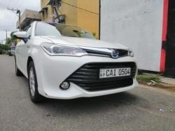 Toyota Corolla Axio G Grade 2015