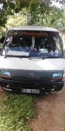 Toyota Dolpin Short Model 1989