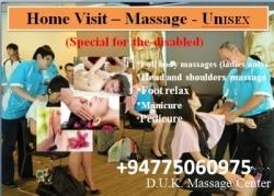 Home Visit – Massage - UnISEX