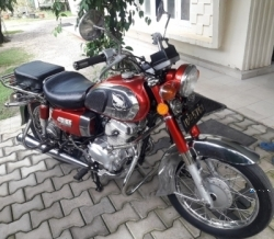 Honda CD 185 Road Master 1974