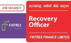 Recovery Officer (Dambulla) – Fintrex Finance Limited