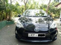 Toyota Aqua G Grade Limited 2012