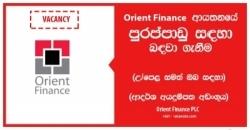 Executive / Senior Executive – Credit Evaluation – Orient Finance PLC