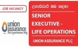 SENIOR EXECUTIVE – LIFE OPERATIONS – Union Assurance PLC