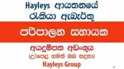 Administrative Assistant – Hayleys Group