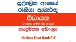 Executive – Leasing – Nations Trust Bank PLC