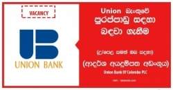 MANAGER – IT SECURITY – Union Bank Of Colombo PLC