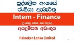 Intern – Finance – Heineken Lanka Limited