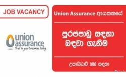 Head of Recruitment & Retention (Senior Manager Level) -Union Assurance PLC
