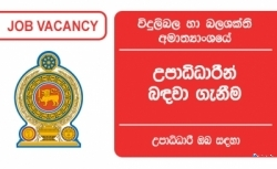 Post of Director – Ministry of Power and Energy