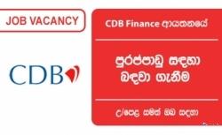 Recovery Officer – Citizens Development Business Finance PLC