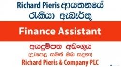 Finance Assistant – Richard Pieris & Company PLC