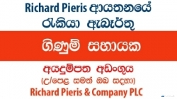 Assistant Accountant – Richard Pieris & Company PLC