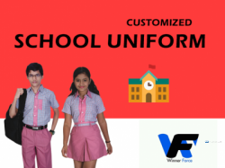 Coutomized School Uniform for Children
