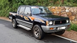 Mitsubishi L200 Double Cab 2001