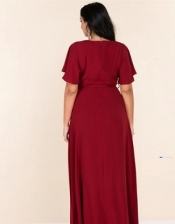 Flared Sleeve Maxi Party Dress Price in Srilanka