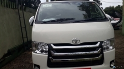 KDH Van for Rent or Hire with Driver