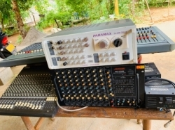 Sound Craft With Mackie Mixer