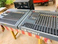 Sound Craft With Mackie Mixer