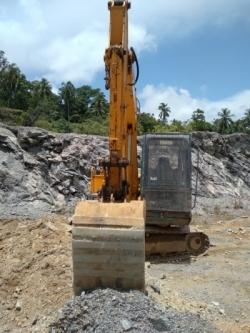 Kobelco Yutani SK03 Excavation
