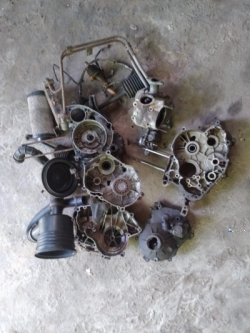 Y Number Three Wheeler Parts Set