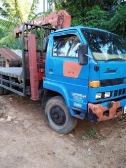Isuzu Jouster Forward Boom Lorry