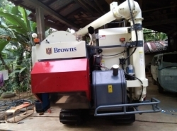 Browns World Combine Harvester